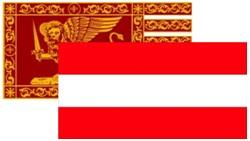BANDIERA AUSTRIA-VENETA